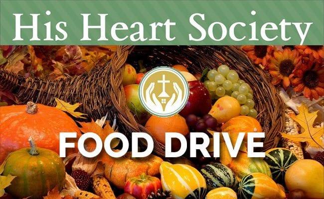 2018 HOLIDAY FOOD DRIVE (Thanksgiving & Christmas)