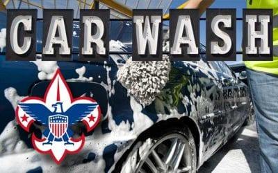 Boy Scout Troop 375 Car Wash Fundraiser
