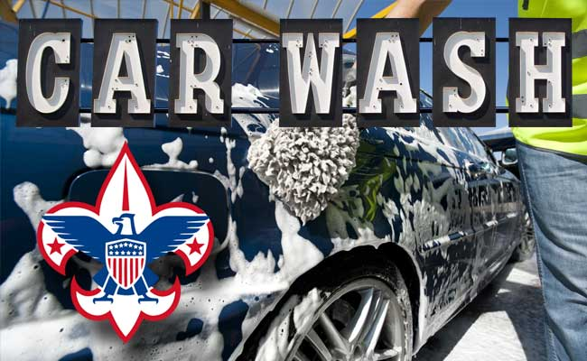 Boy Scout Troop 375 Car Wash Fundraiser