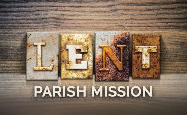 Lent Parish Mission