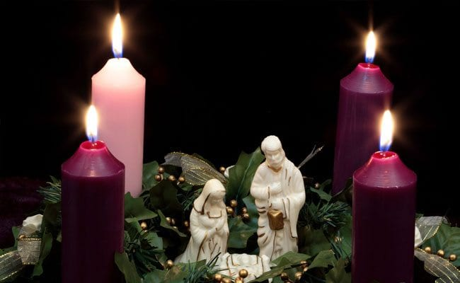 Will you light the Advent Wreath for us?