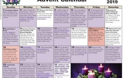 Family Advent Calendar 2019