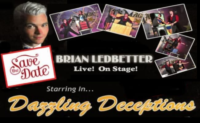 Brian Ledbetter live! On Stage! BUY TICKETS