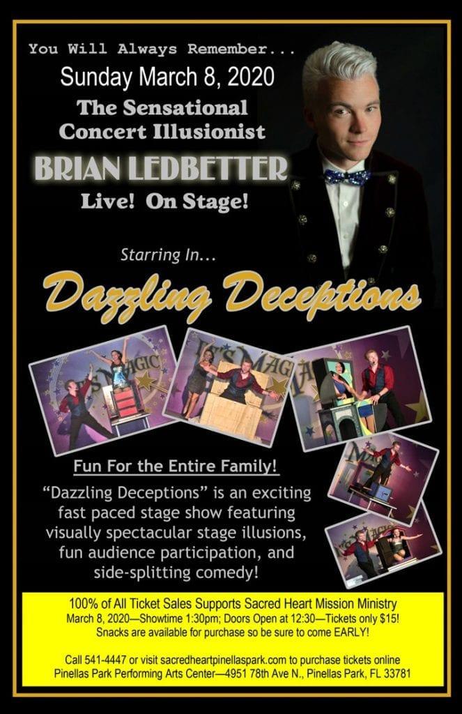 Brian Ledbetter Live on Stage
