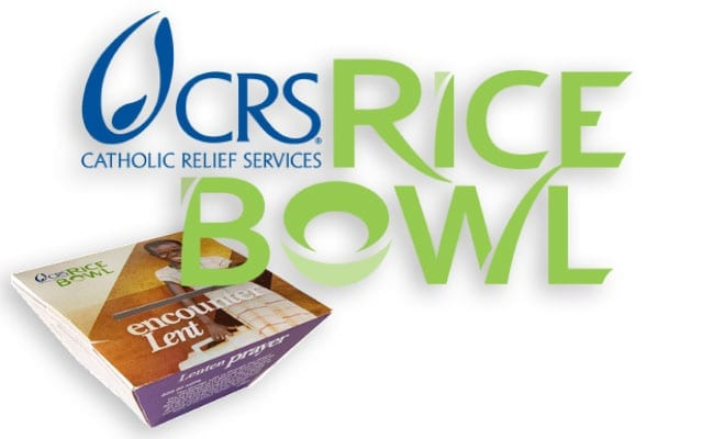 Catholic Relief Service's Rice Bowl program