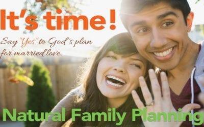 Natural Family Planning Awareness Week July 19-25